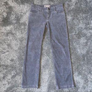 J. Crew Boot cut Corduroy Pants Gray Size 0S